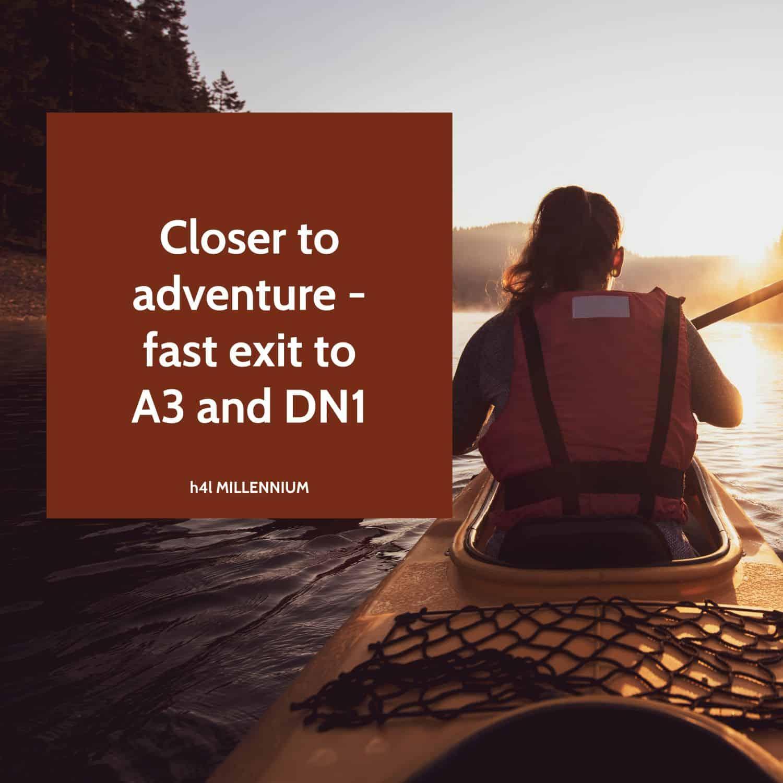 Closer to adventure