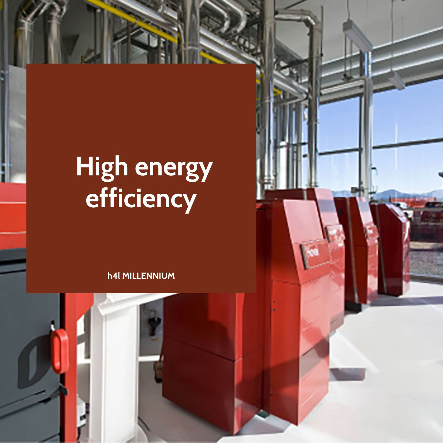 Eficiență energetică mare