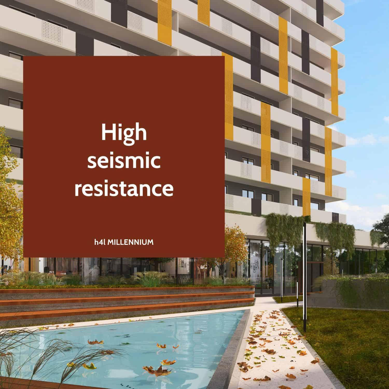 High seismic resistance