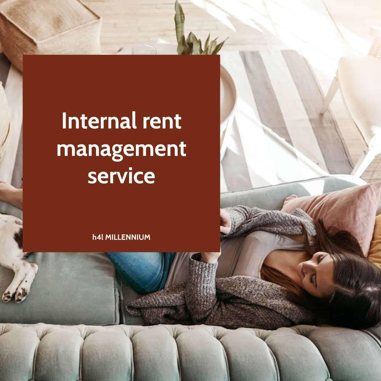 Internal rent management service