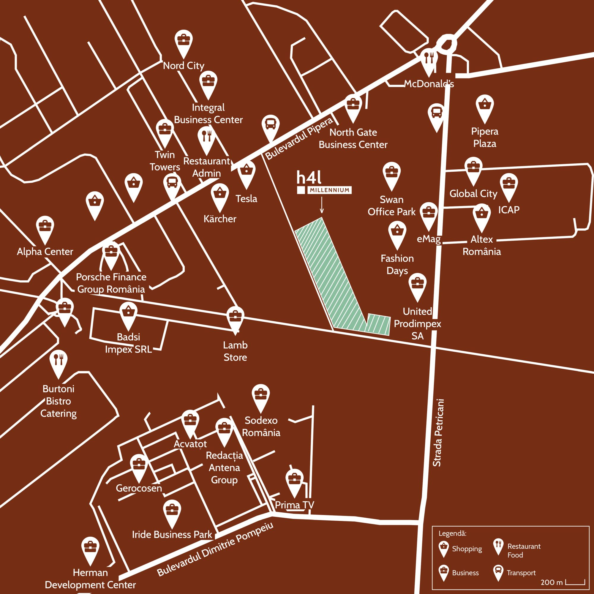 h4l MILLENNIUM pin map