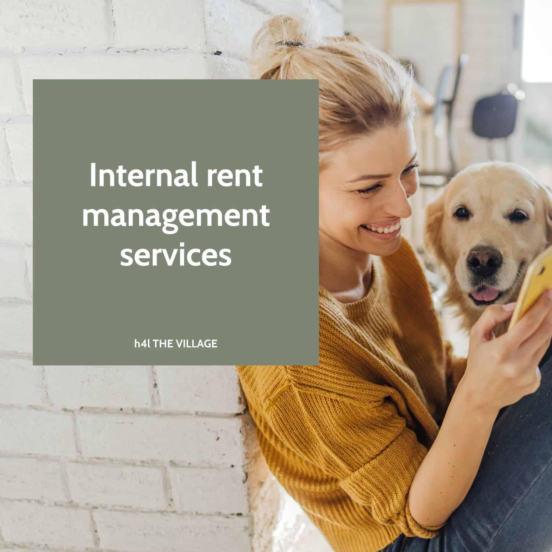 Serviciu intern de rent management