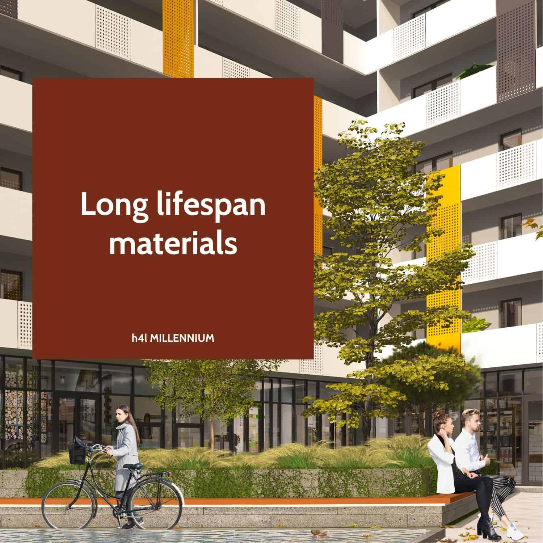Long lifespan materials