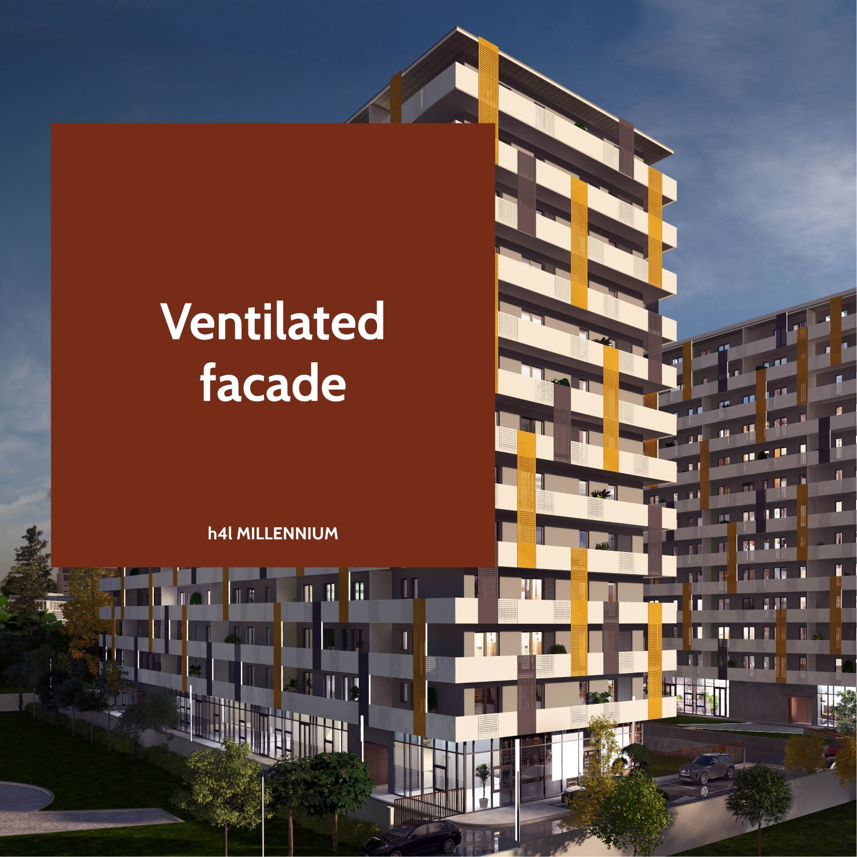 Ventialted facade